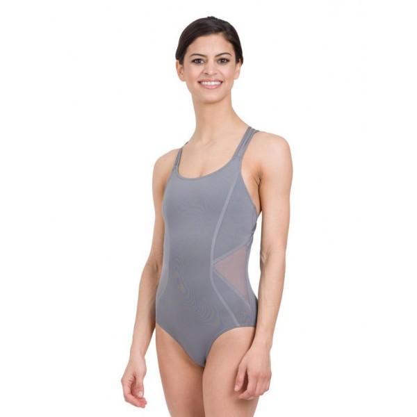 Capezio Tech mesh insert Camisole Leotard, baletní dres