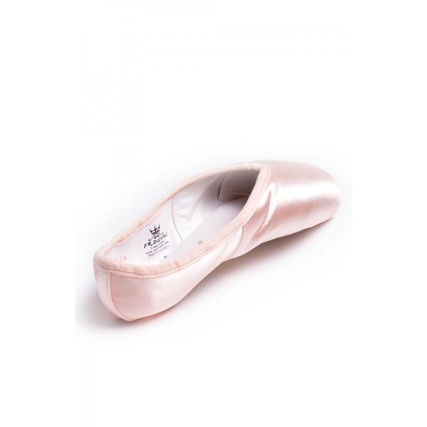 FR Duval-regular, baletní špičky s plastovou stélkou