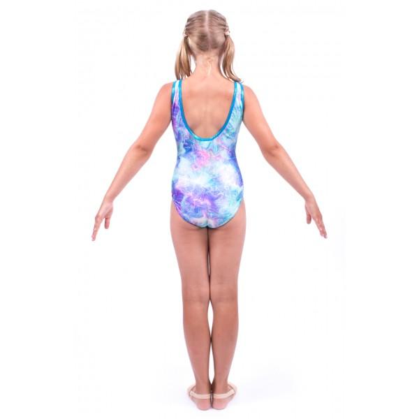 Capezio gymnastický dres na hrubá ramínka