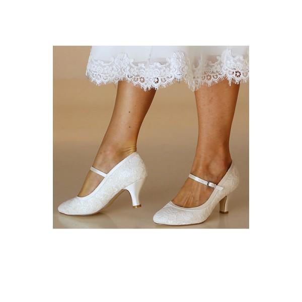 Megan, svatební boty