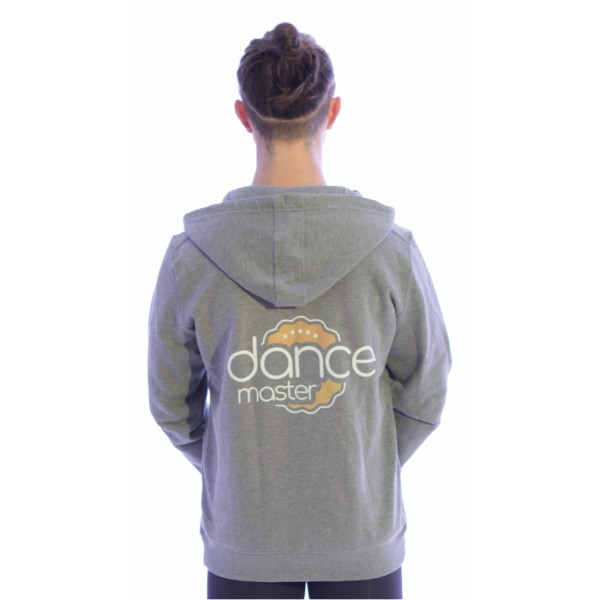 DanceMaster trainig hoodie, pánská mikina na zips