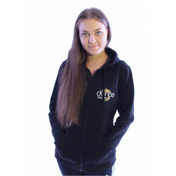 DanceMaster trainig hoodie, mikina na zips